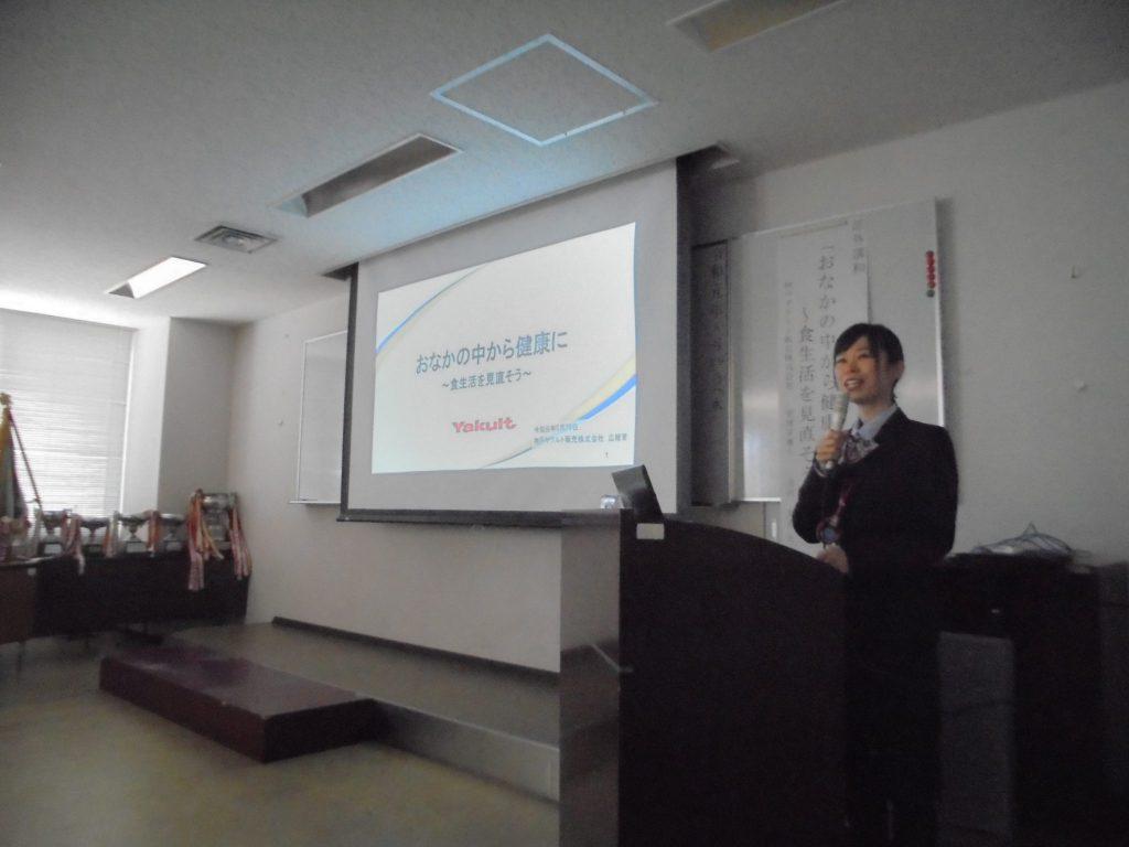 兵庫県警察 警備部機動隊さまで健康セミナーを開催いたしました
