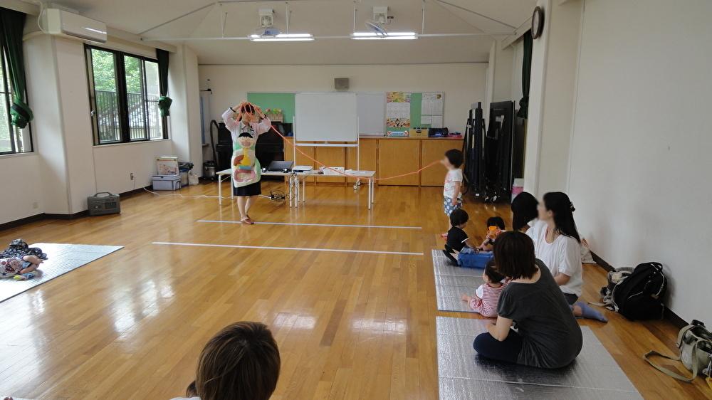 大池児童館さまで「おなか元気教室」を開催しました