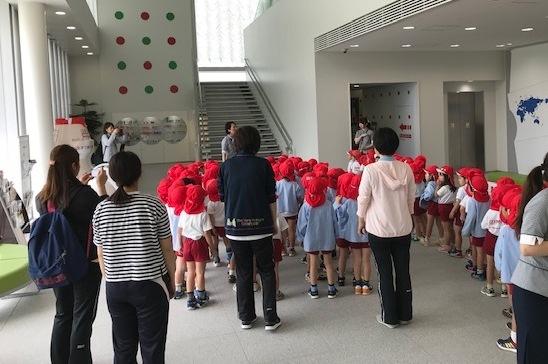 泉台幼稚園さまへ工場見学を実施しました