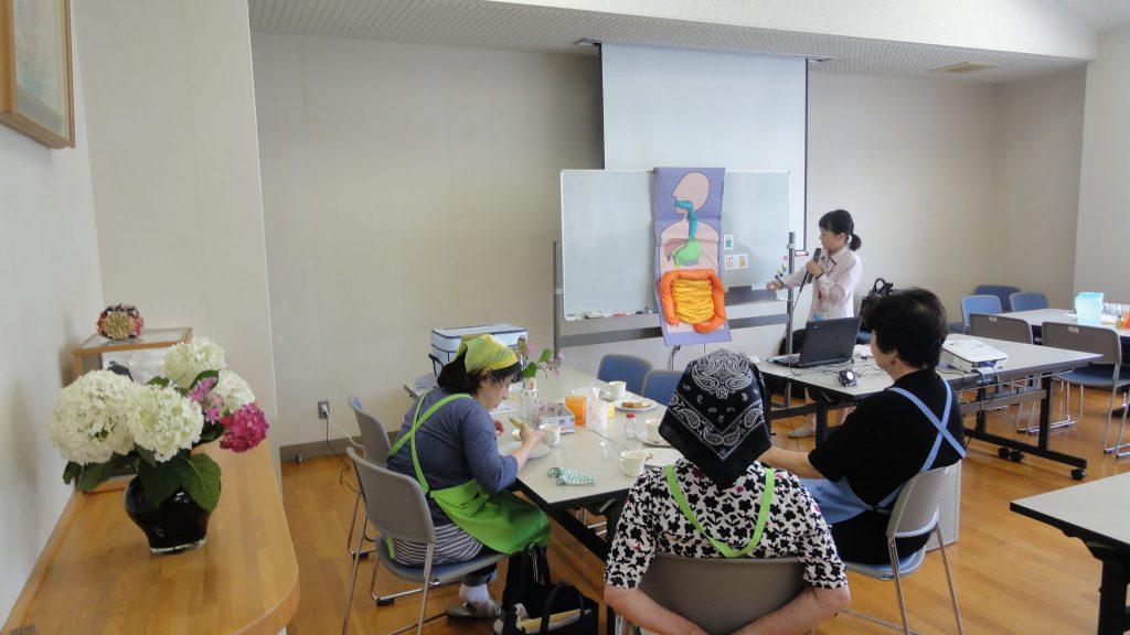 名倉地域福祉センターさまで健康セミナーを開催いたしました。