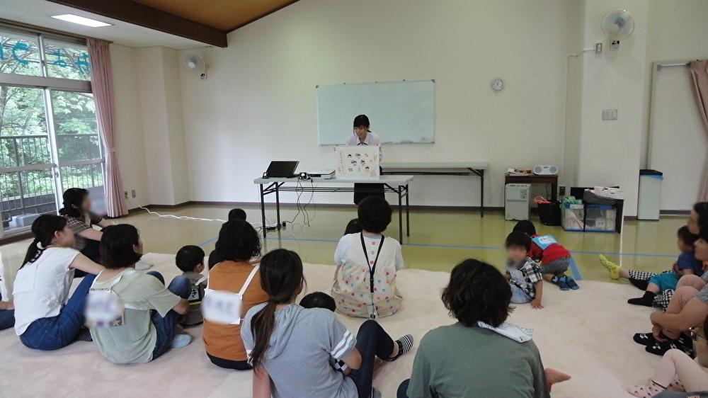 妙法寺児童館さまで健康セミナーを開催しました