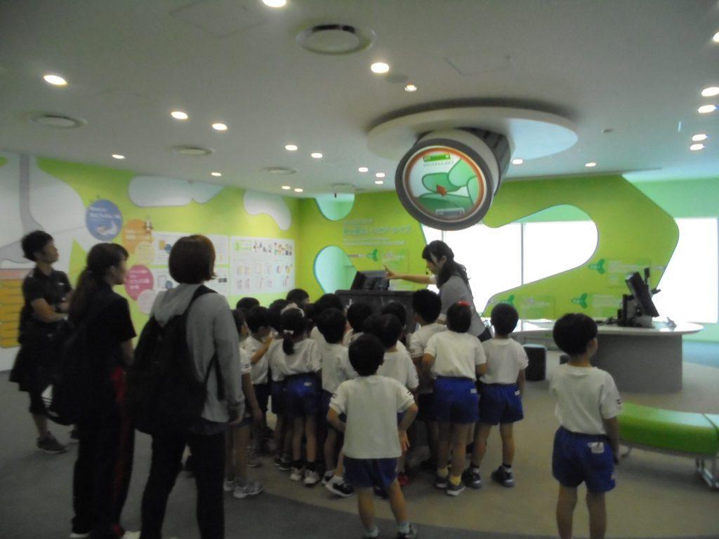 山手幼稚園さまへ工場見学を実施しました