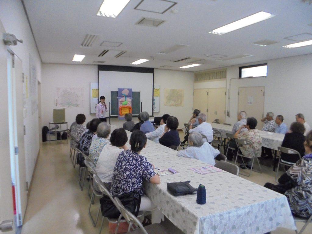 菊水校区ふれあいのまちづくり協議会さまで健康教室を開催しました。
