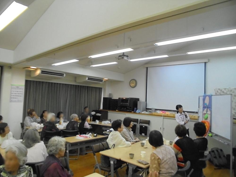 桜寿会さまで健康セミナーを開催いたしました。
