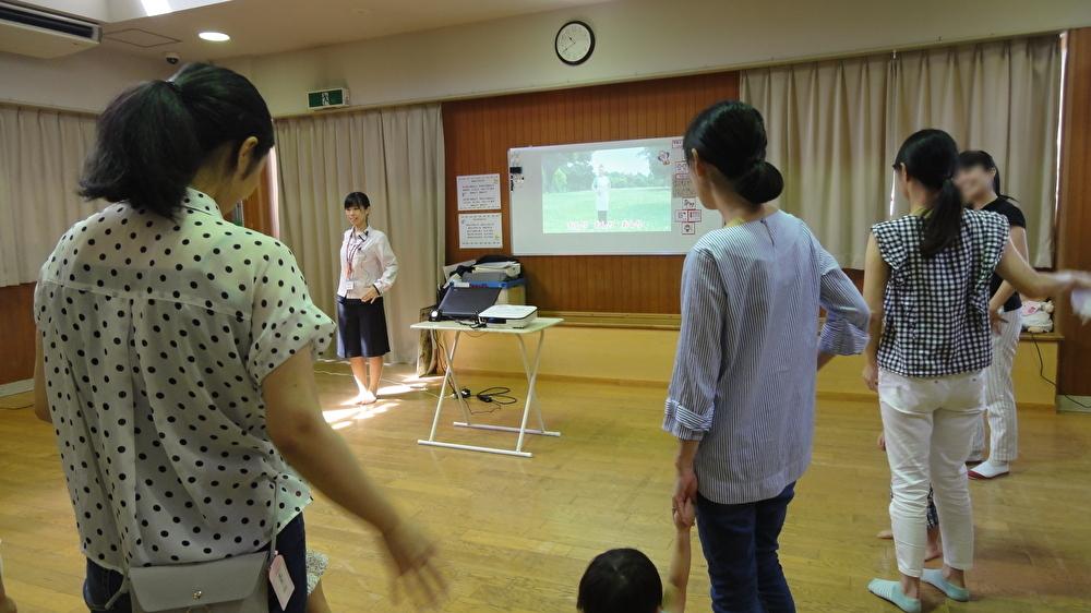 篠原児童館さまで健康セミナーを開催しました