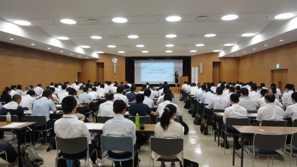 兵庫県警察本部さまで健康セミナーを実施しました