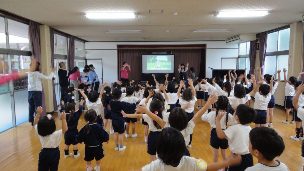 たちえ幼稚園さまで出前授業を開催いたしました。