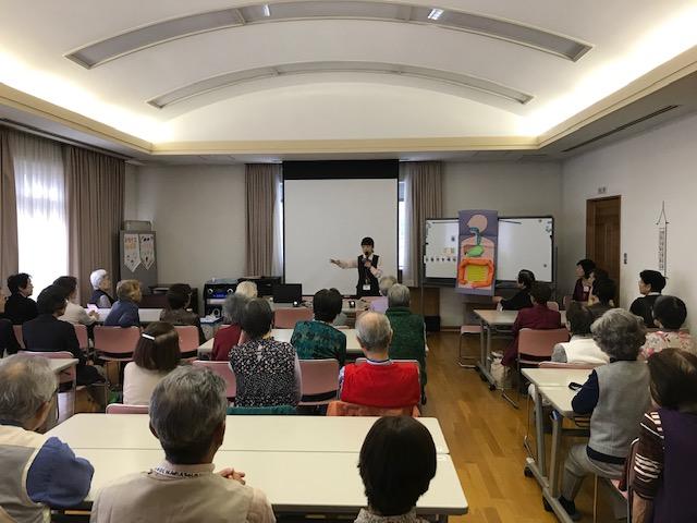 藤原台地域福祉センターさまで健康セミナーを開催いたしました。