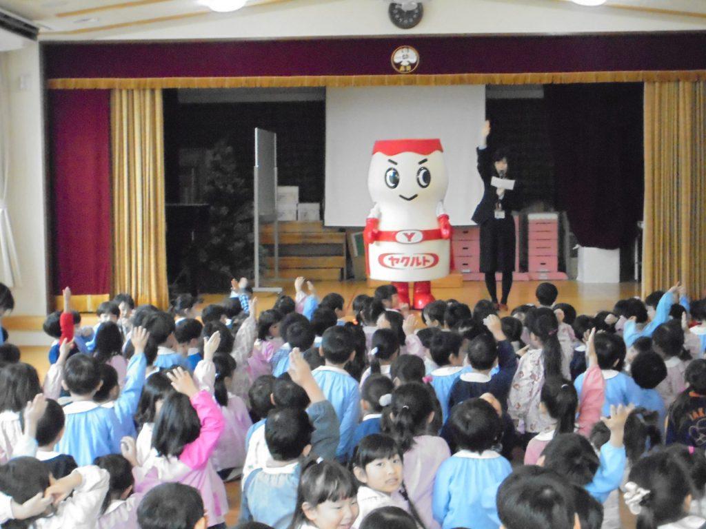 高羽幼稚園さまで出前授業を開催いたしました