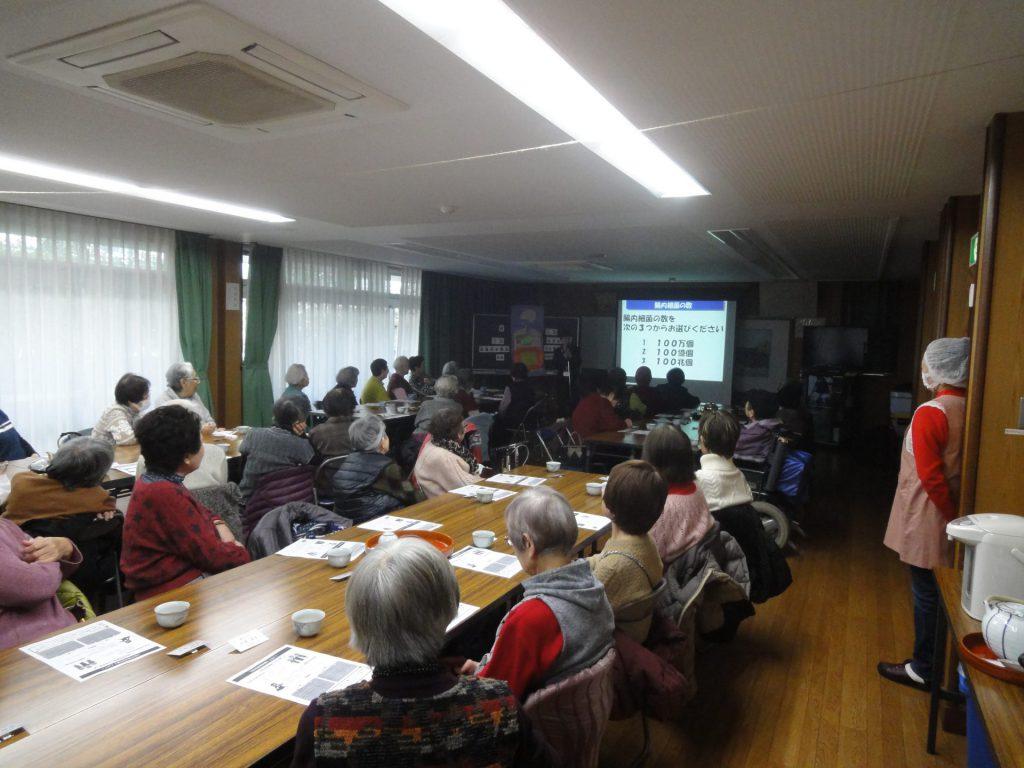 夢野地区地域福祉センターさまで健康セミナーを開催いたしました。
