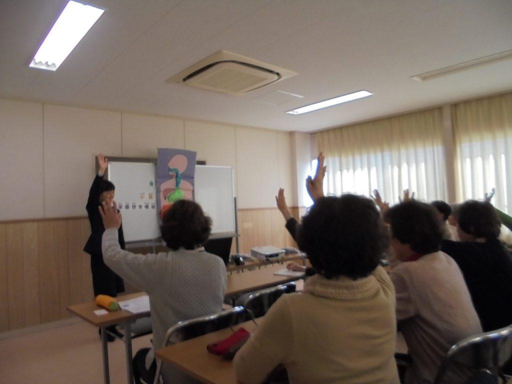 上野消費者学級さまで健康セミナーを開催いたしました。