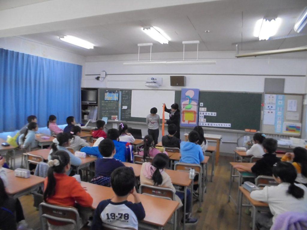 神戸市立南五葉小学校さまで出前授業を開催いたしました。