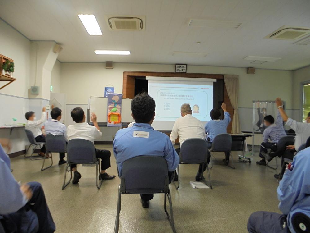 関西電気保安協会 神戸支店さまで健康セミナーを開催いたしました。
