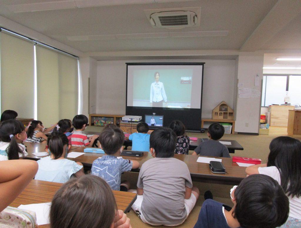 宮本学童保育コーナーさまで出前授業を開催いたしました。
