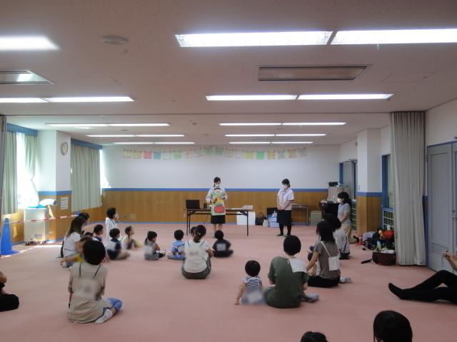 諏訪山児童館さまで健康セミナーを開催いたしました。