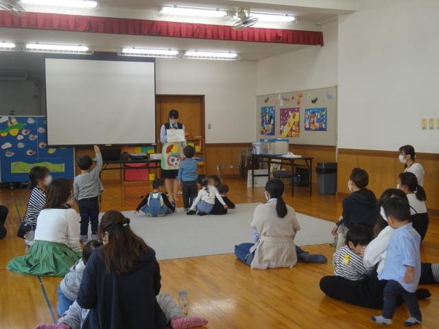 港島児童館さまで健康セミナーを開催いたしました。