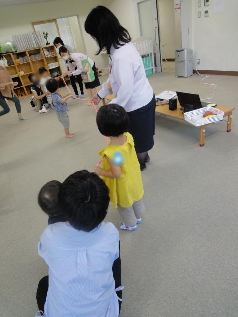 たちばな児童館さまでおなか元気教室を開催いたしました。