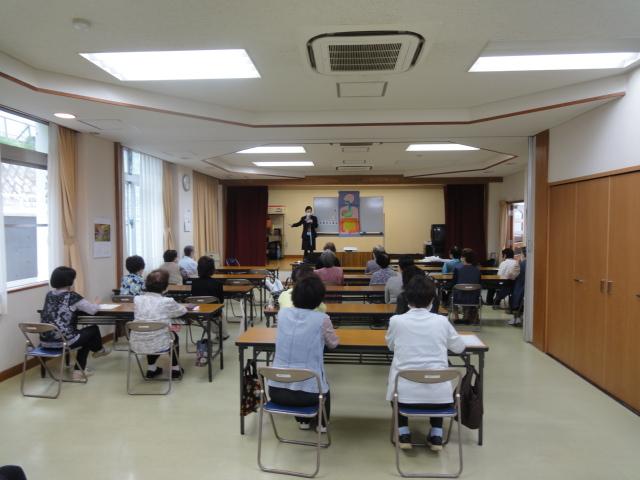 長田婦人会さまで健康セミナーを開催いたしました。