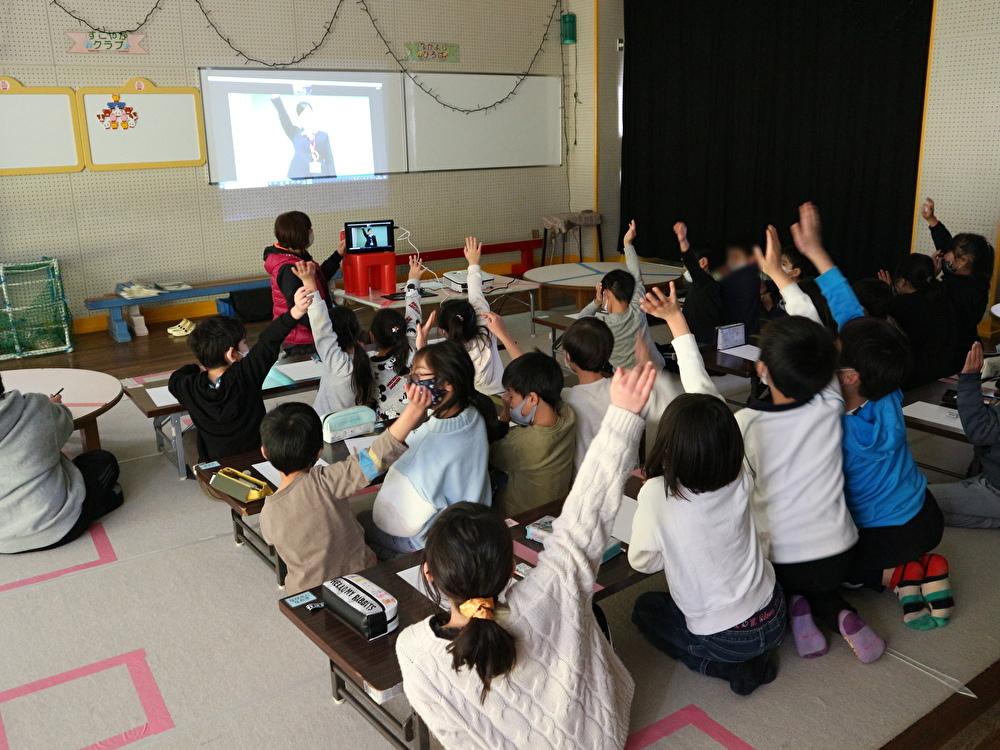 大日丘児童館さまでオンライン出前授業を開催しました。