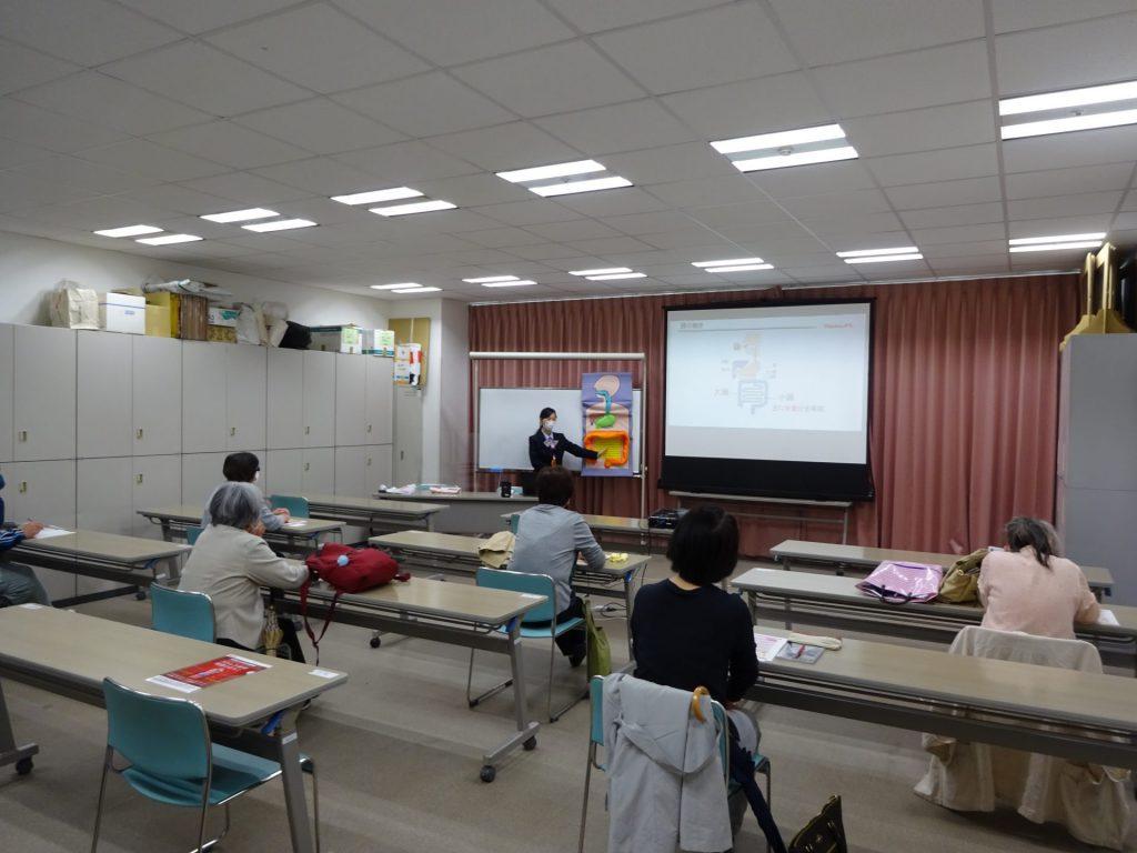 神戸新聞文化センターさまで健康セミナーを開催いたしました。