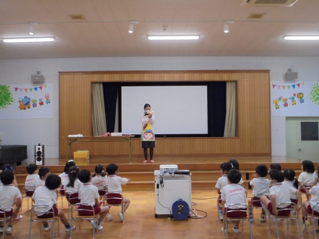 泉台幼稚園さまで出前授業を開催いたしました。