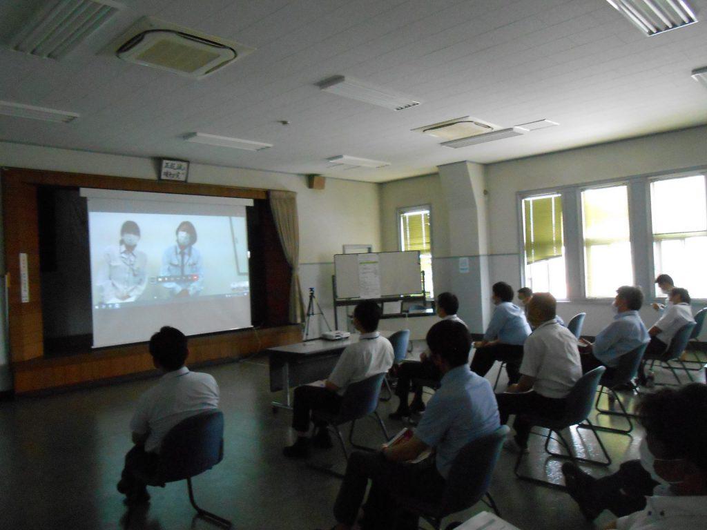 関西電気保安協会 神戸支店さまでオンライン健康セミナーを開催しました。