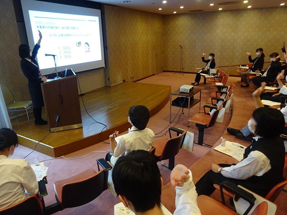神戸ポートピアホテルさまで健康セミナーを開催しました。